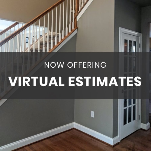 Now offering virtual estimates. Inside Out Painting